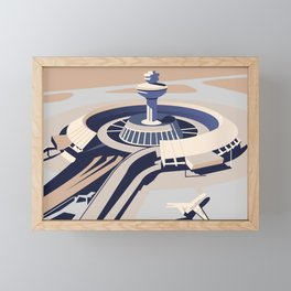 Soviet Modernism: Zvartnots airport, Armenia Framed Mini Art Print