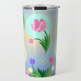 Tulips, Bouquet floral design Travel Mug