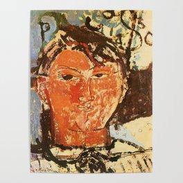 """Amedeo Modigliani """"Portrait of Pablo Picasso"""" Poster"""