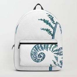 fern painting 2017 Backpack