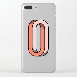Looped Clear iPhone Case