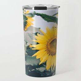 Sunflower 19 #sunflowers Travel Mug