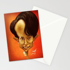 Aung San Suu Kyi Stationery Cards
