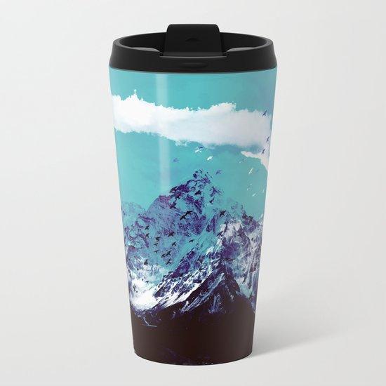 Mountain Range Metal Travel Mug
