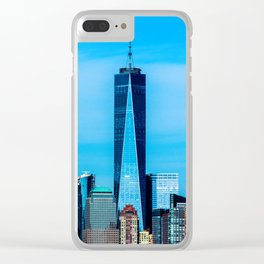 1 WTC Clear iPhone Case