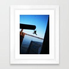 Arachnophobic Framed Art Print