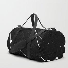 GEMINI (BLACK & WHITE) Duffle Bag