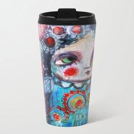 Hippie Circus Metal Travel Mug