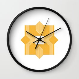Geometric #5 Wall Clock