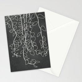 Minimalist Vines I Stationery Cards