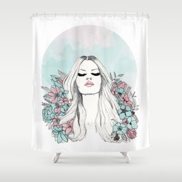 bloom v2 Shower Curtain