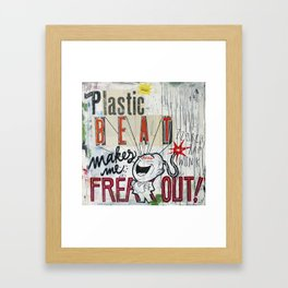Plastic Beat Framed Art Print
