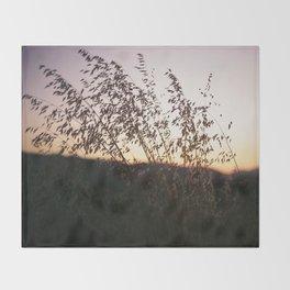 i-5 sunset Throw Blanket