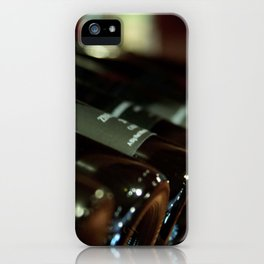 Wine Bottles iPhone Case