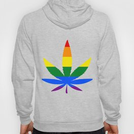 Weed - LGBT Flag Hoody