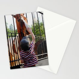 City Zoo Baby Horse Love Summer day Stationery Cards