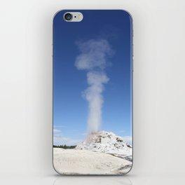White Dome Eruption iPhone Skin