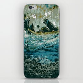 The Sound That Carries Across the Ocean iPhone Skin