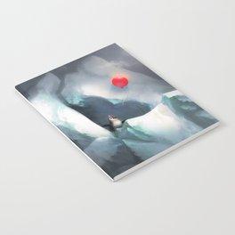 Heart Penguin Notebook