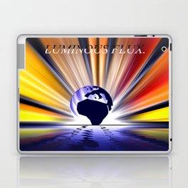 Luminous flux. Laptop & iPad Skin