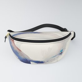 Abstract shapes and colours 01 Fanny Pack
