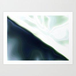 Dark Light Satin Art Print