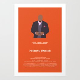 Pushing Daisies - Emerson Art Print