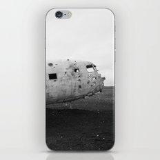 Iceland Plane Wreckage DC-3 iPhone & iPod Skin