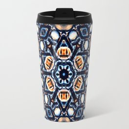 Mandala Halloween Style Travel Mug