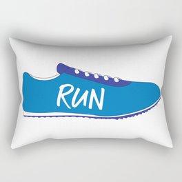 Running Shoes Rectangular Pillow
