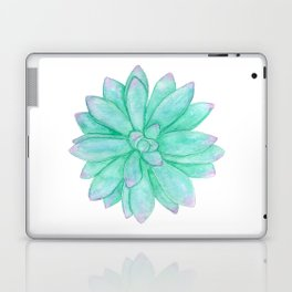 Pachyveria - Green and Red Succulent Laptop & iPad Skin