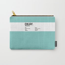 Okay. - Colour Card Carry-All Pouch