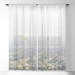 Mexico 77 Sheer Curtain