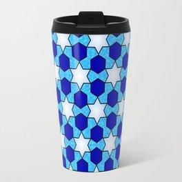 Stars And Hexes Travel Mug