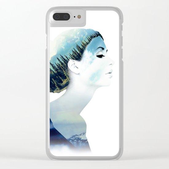 Women Clear iPhone Case