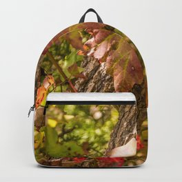 Red Leaves Enchantment Backpack