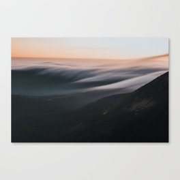 Sunset mood - Landscape and Nature Photography Canvas Print