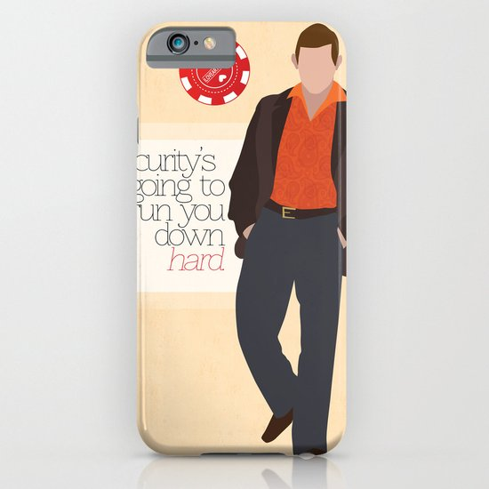 """""""Security is going to run you down hard."""" iPhone & iPod Case"""