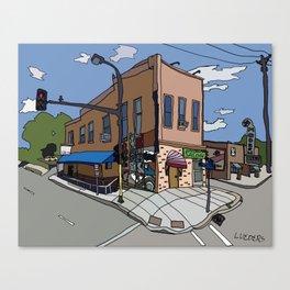 331 Club, Jon Oulman Salon, Modern Cafe - Minneapolis Canvas Print