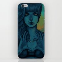 sail iPhone & iPod Skins featuring Sail by Cassie Wolfe