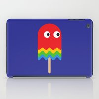 pacman iPad Cases featuring Pacman ghost by Tony Vazquez