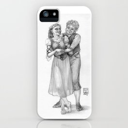 A Halfling Wedding iPhone Case