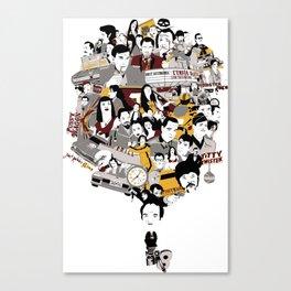 Quentin´s World Canvas Print