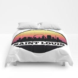 Saint Louis Skyline Comforters