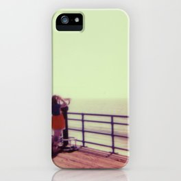 Kelly on the Boardwalk iPhone Case