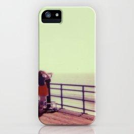 Kelly on the Boardwalk iPhone Case