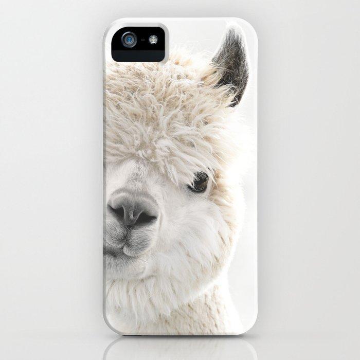 PEEKY ALPACA iPhone Case