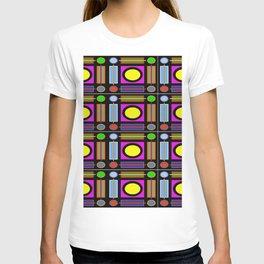 Art Deco Grid T-shirt