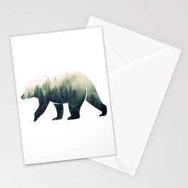 Bear in the Forest Stationery Cards
