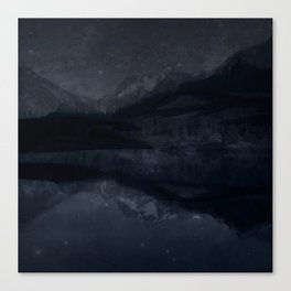 Night Valley Canvas Print